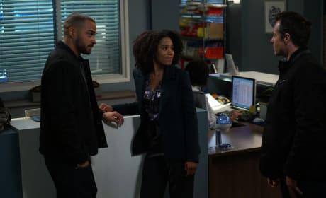 Hand Flirting - Grey's Anatomy Season 14 Episode 9