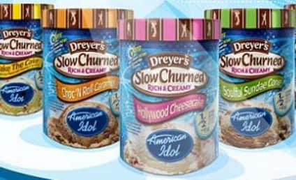American Idol Ice Cream Hits the Shelves