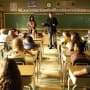 Rick in the Classroom - Castle Season 7 Episode 4