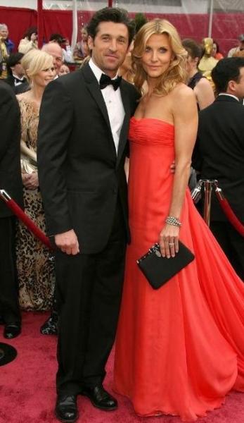 Patrick Dempsey with Jillian Dempsey