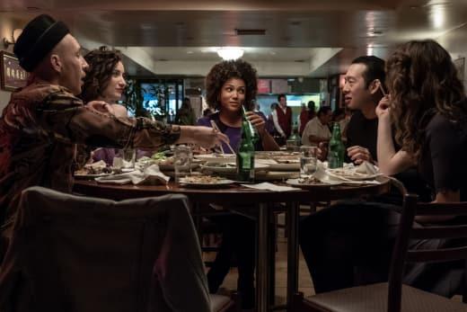 Sasha, Ari, Heather, Scott, and Becky talk - Sweetbitter Season 1 Episode 4