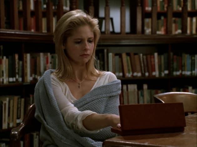 Giles' Little Secret - Buffy the Vampire Slayer