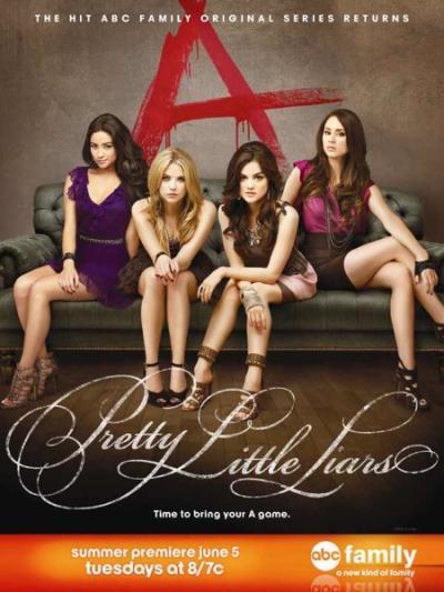 Pretty Little Liars Season 3 Poster
