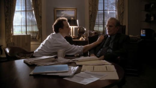 We Got You - The West Wing Season 1 Episode 9