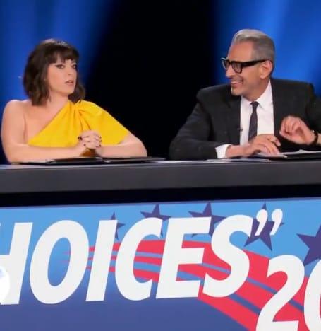 Rachel Bloom and Jeff Goldblum - RuPaul's Drag Race Season 12 Episode 9