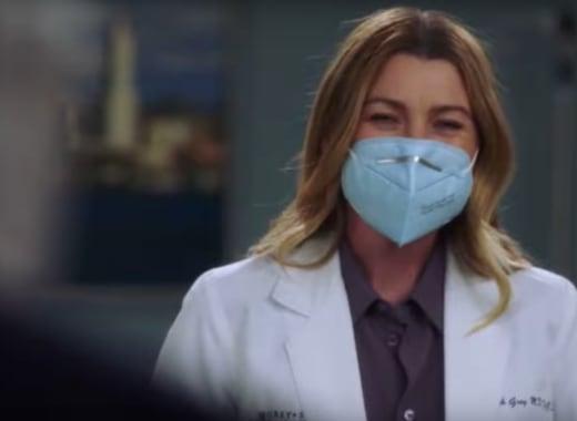 Meredith Back at Work - Grey's Anatomy