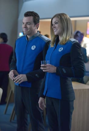 Sharing a Moment - The Orville Season 1 Episode 11