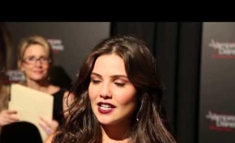 Danielle Campbell Talks The Vampire Diaries