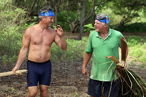 Jimmy Johnson on Survivor