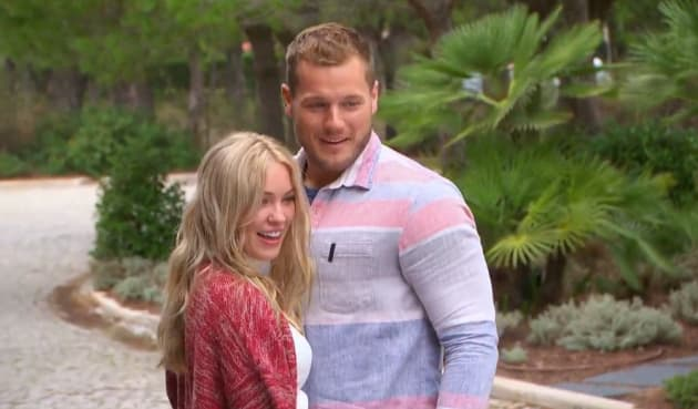 Cassie and Colton in Portugal - The Bachelor