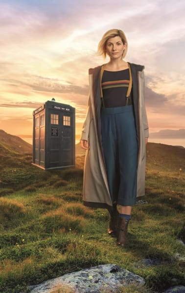 Jodie Whittaker as the 13th Doctor - Doctor Who