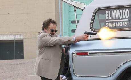 Taking His Shot