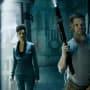 Amos and Naomi on Ganymede - The Expanse Season 2 Episode 11