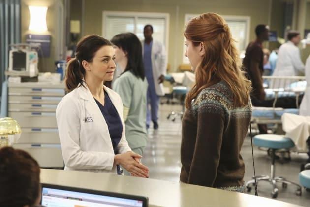 Amelia at Work - Grey's Anatomy Season 11 Episode 7