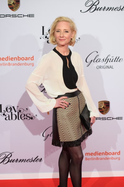 Anne Heche attends Medienboard Berlin-Brandenburg Reception