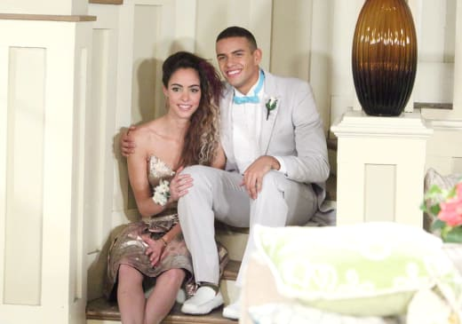 Ciara and Theo's Prom Photos - Days of Our Lives