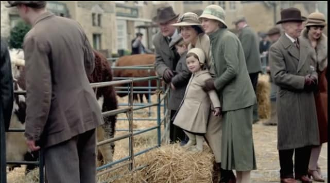 The villages stock show downton abbey