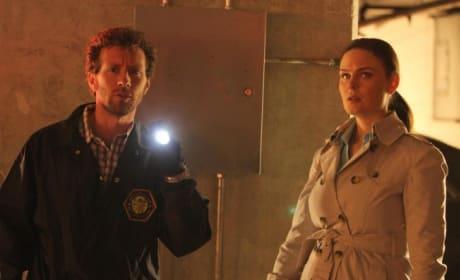Hodgins and Brennan Photo