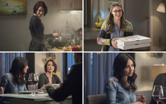 Alex is cooking supergirl season 2 episode 19