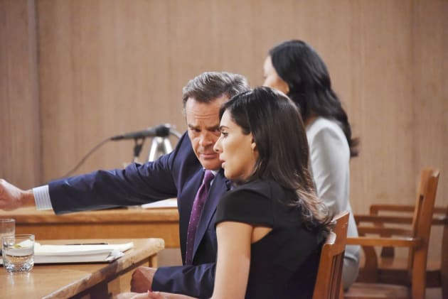 Justin Defends Gabi - Days of Our Lives