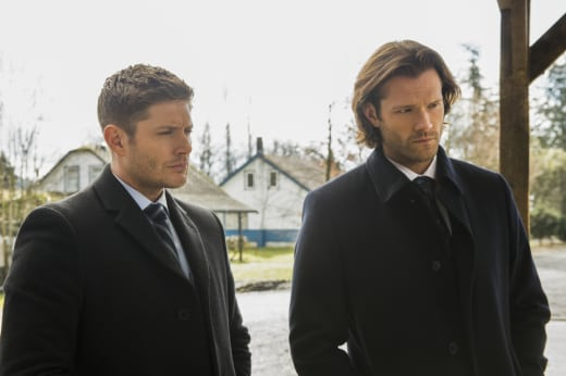 Sam and Dean are on the latest case - Supernatural Season 12 Episode 18