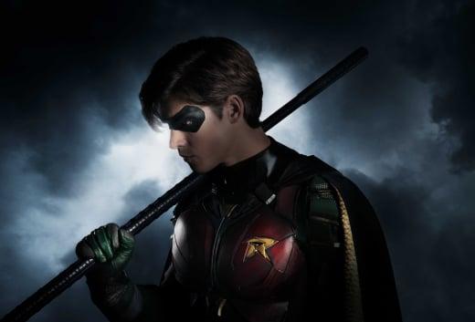 Robin on Titans