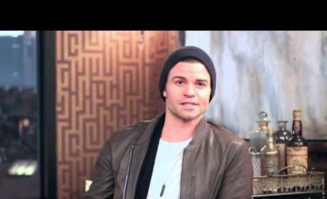 Daniel Gillies Takes Us Behind Elijah's Red Door