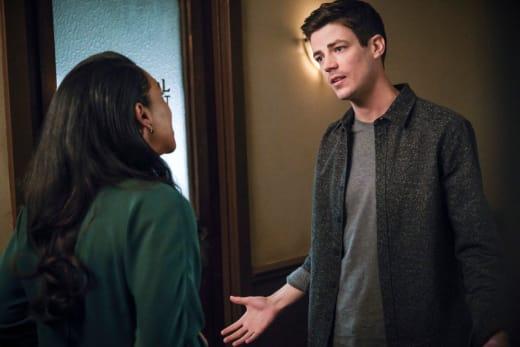 West Allen Disagrees On Parenting - The Flash Season 5 Episode 20