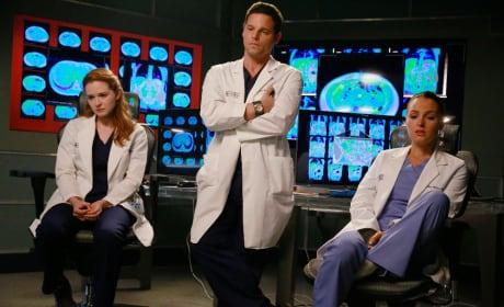 April, Alex, and Jo - Grey's Anatomy Season 11 Episode 20