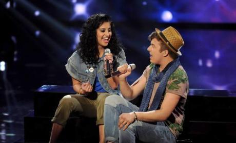 Jena Irene and Alex Preston