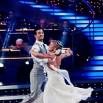 Shawn Johnson and Mark Ballas Performance