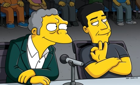 Moe and Simon Cowell