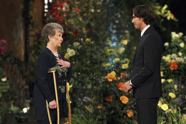 Grandma Comes to The Bachelor