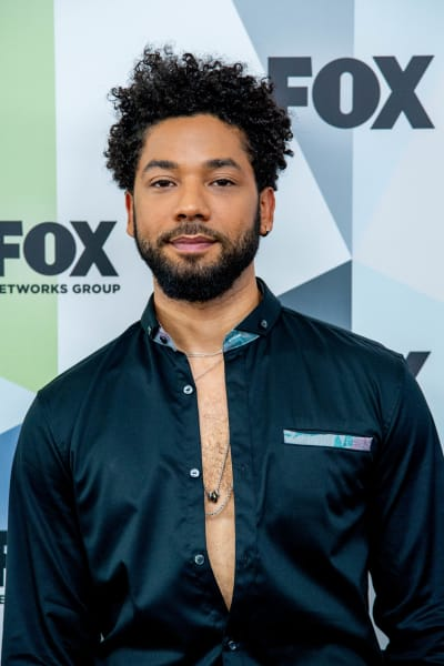 Jussie Smollett Attends Fox Upfronts