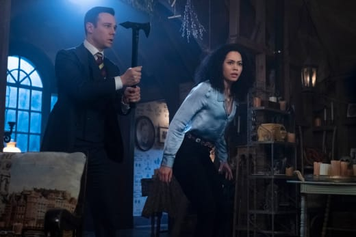Harry and Macy Face The Demons - Charmed (2018) Season 1 Episode 14