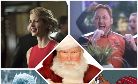 15 TV Characters on Santa's Naughty List
