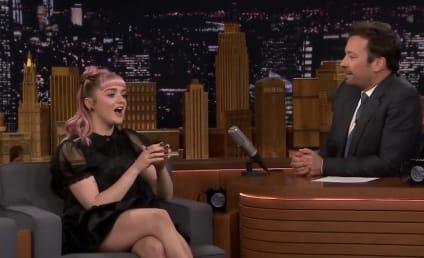 Maisie Williams Drops HUGE Game of Thrones Spoiler in Late-Night Prank