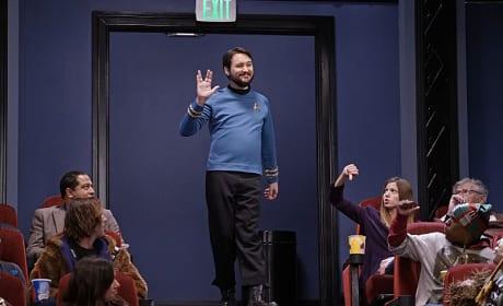 Wrong Movie, Wil! - The Big Bang Theory Season 9 Episode 11