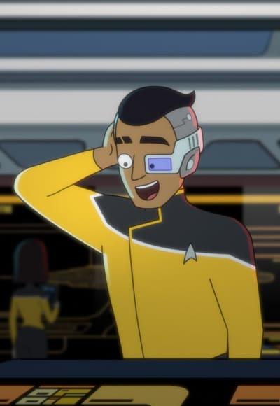 Rutherford Loves His Work - Star Trek: Lower Decks Season 1 Episode 4