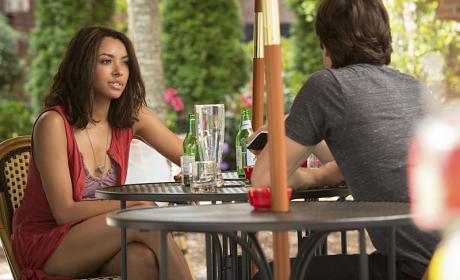 Bonnie on the Premiere - The Vampire Diaries Season 7 Episode 1