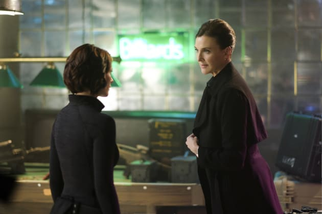 Working with Lillian - Supergirl Season 2 Episode 21
