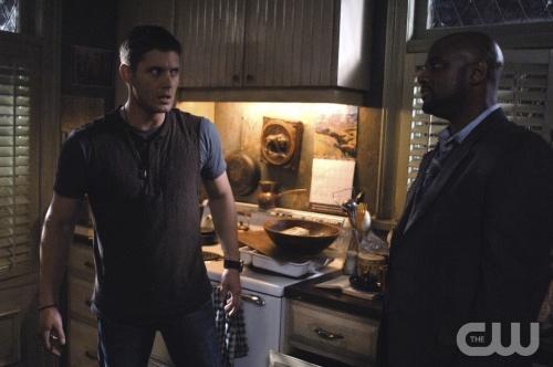 Dean and Agent Henriksen