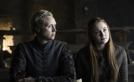 Brienne & Sansa - Game of Thrones Season 6 Episode 5