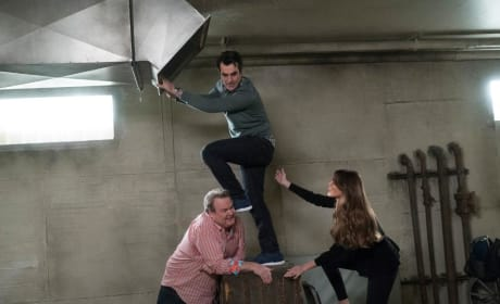 Cam and Gloria Help Phil - Modern Family Season 9 Episode 21