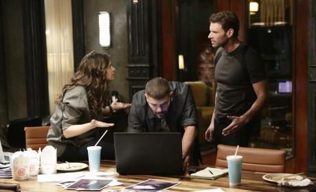Quinn and Jake Talk - Scandal Season 4 Episode 11