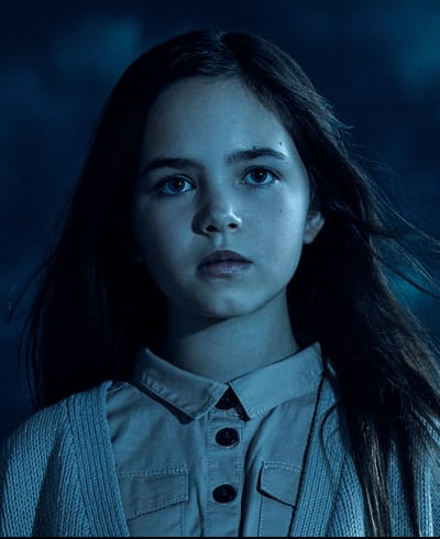 Ryan Kiera Armstrong as Alma Gardner - American Horror Story
