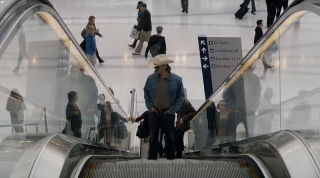 Riding the Escalator - True Detective