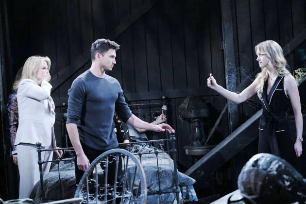 (HORIZONTAL) Claire's Breakdown - Days of Our Lives