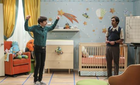 A Squeaky Board - The Big Bang Theory Season 10 Episode 13