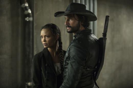 Hot Couple Alert - Westworld Season 2 Episode 3